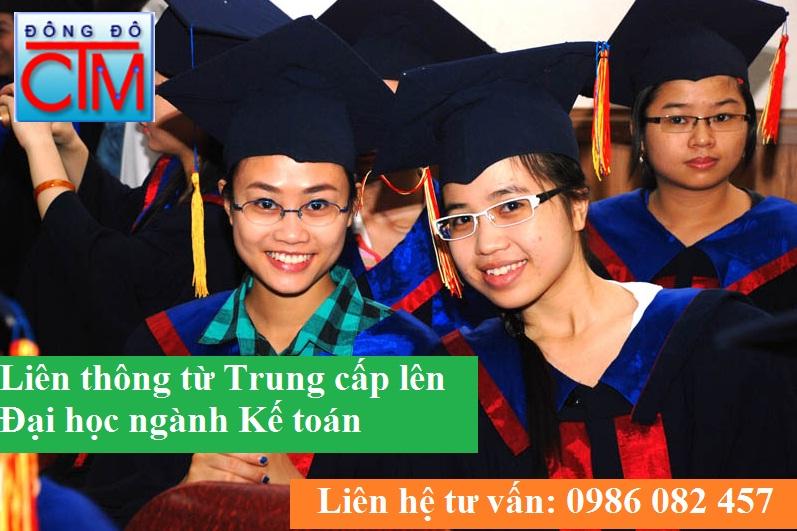 liên thông từ trung cấp lên đại học ngành kế toán
