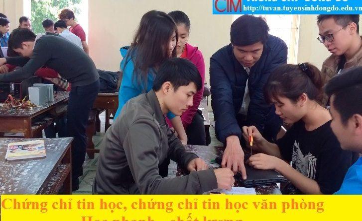 CHUNG CHI TIN HỌC VAN PHONG